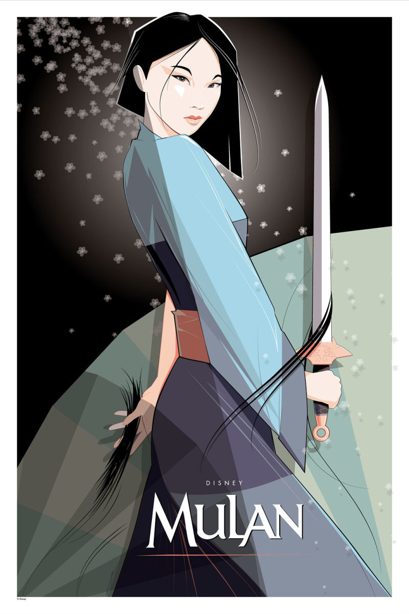 cyclops print works to release mulan print by craig drake on  1