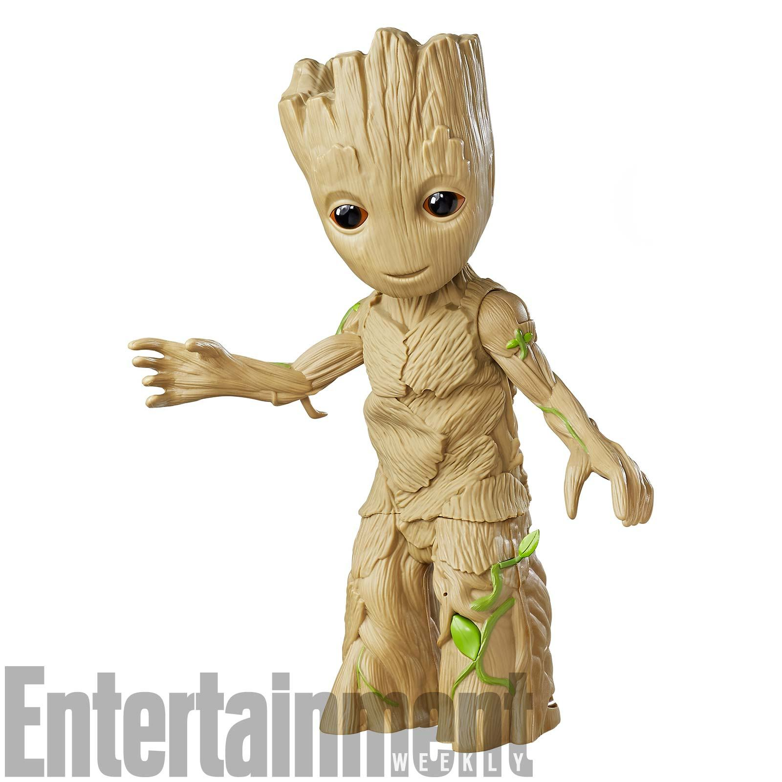 guardians of the galaxy vol 2 see baby groot as a dancing toy. Black Bedroom Furniture Sets. Home Design Ideas