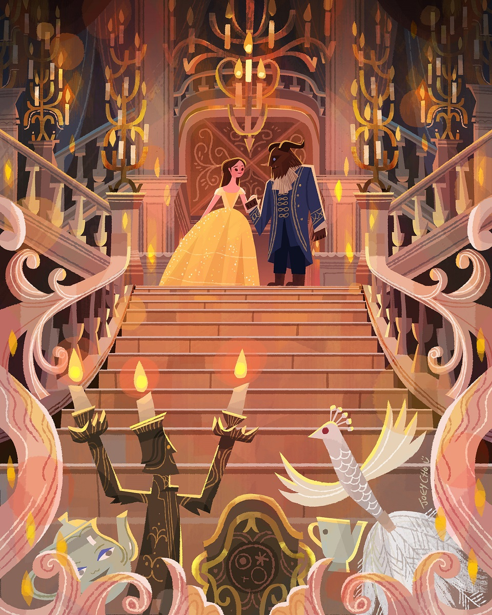 Be Our Guest: An Art Tribute To Disney's Beauty And The ...