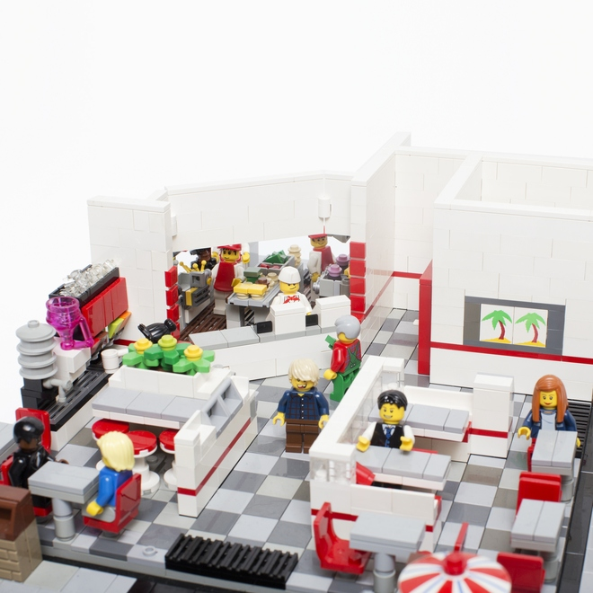 LEGO In-N-Out Burger Restaurant |