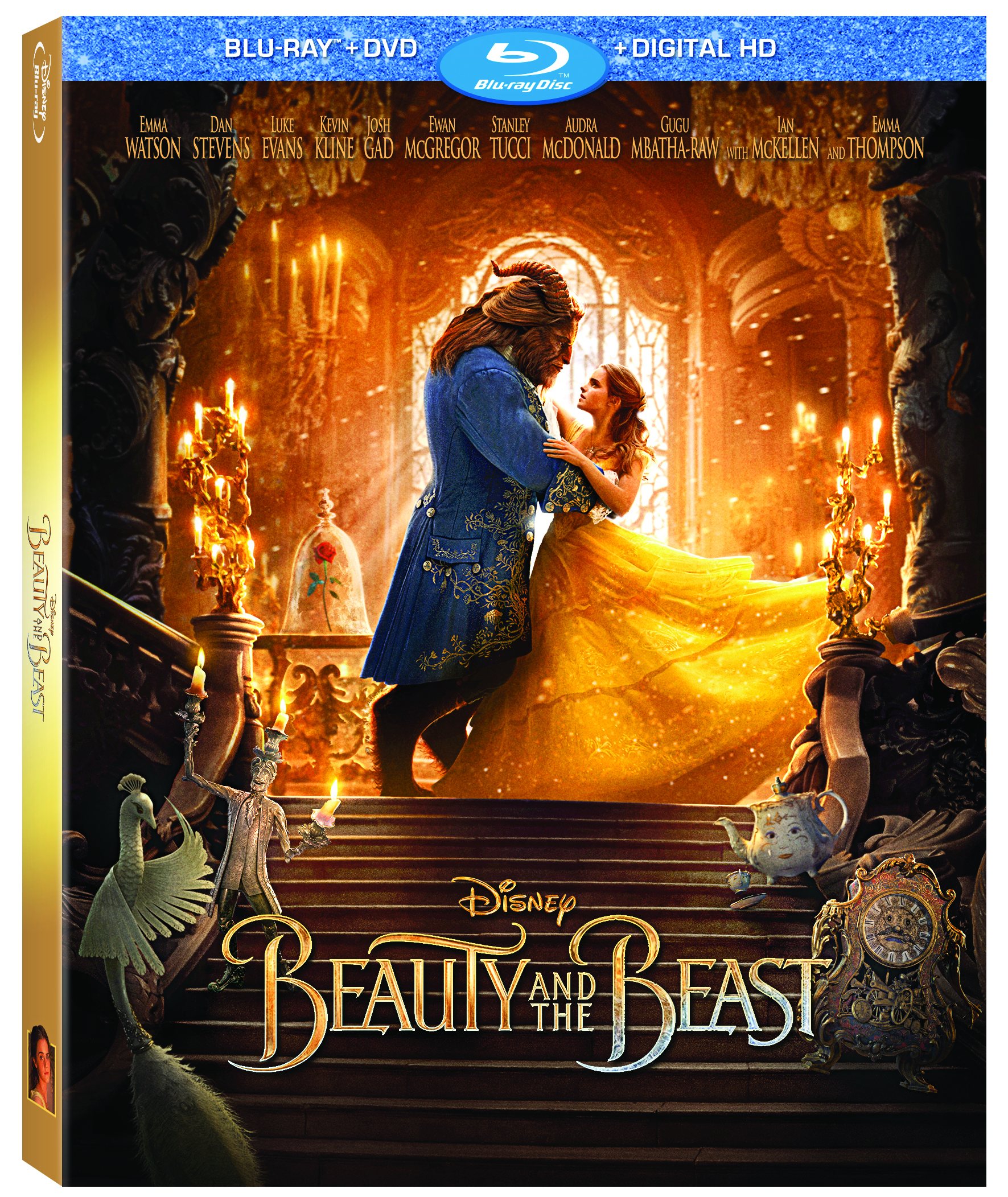 Disney's Beauty And The Beast Arriving On Digital HD, DVD