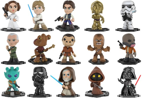 Funko Announces Star Wars Mystery Minis