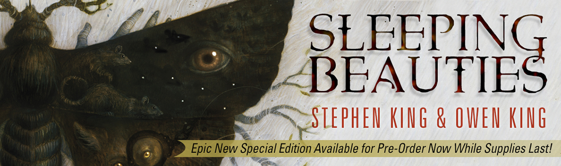 Cemetery Dance Publications Announces Sleeping Beauties Special