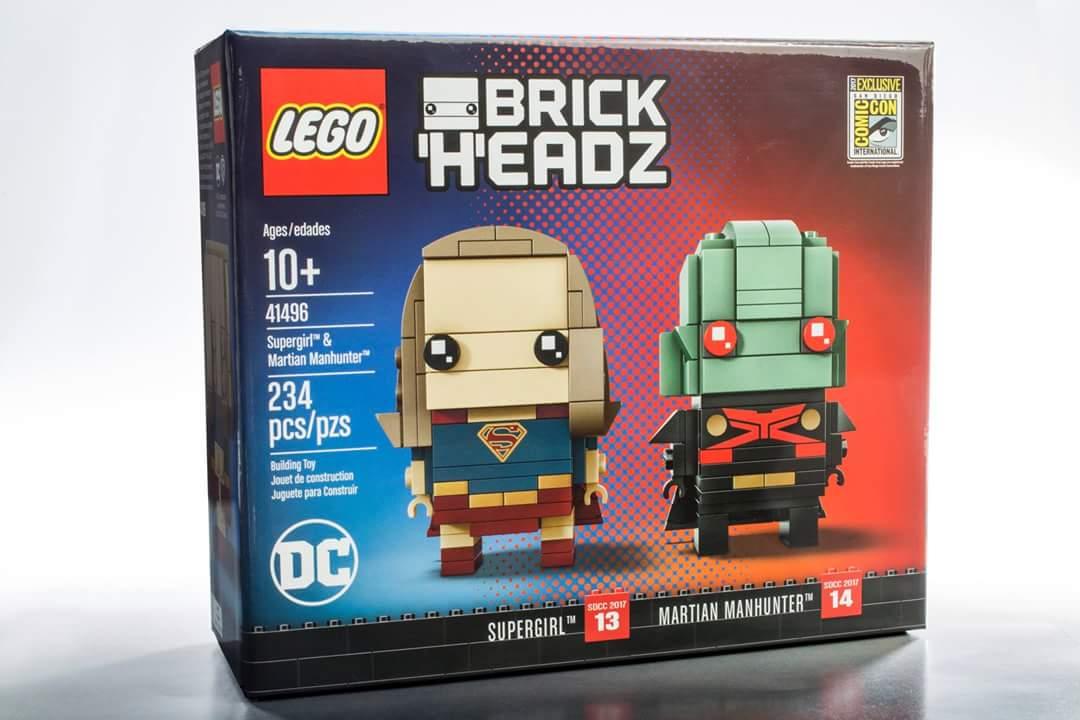 LEGO BrickHeadz DC Supergirl & Martian Manhunter San Diego Comic Con ...