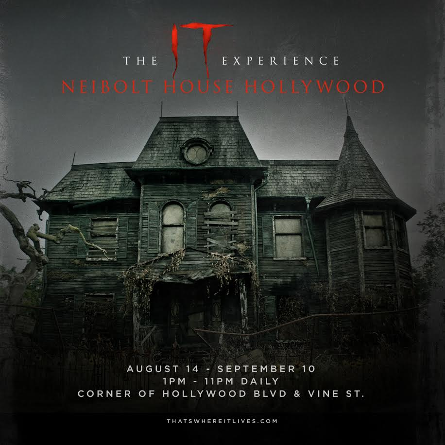 The IT Experience, A Pop-Up Haunted House In Hollywood