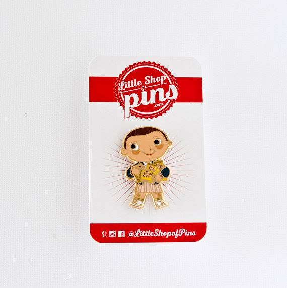 Joey Spiotto Has Teamed Up With The Little Shop Of Pins To Release This New  Limited Edition Eleven Pin Just In Time For Season 2 Of Stranger Things!