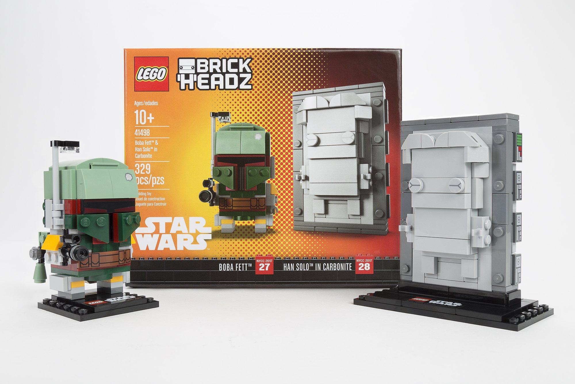 LEGO - 25 2 lego star wars minifigures han solo han in carbonite blaster