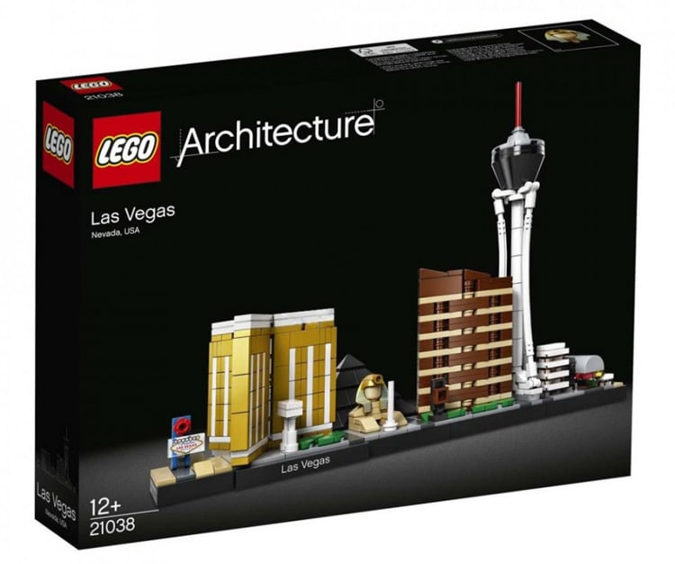 Sneak peek at the lego architecture las vegas set for Architecture 2018
