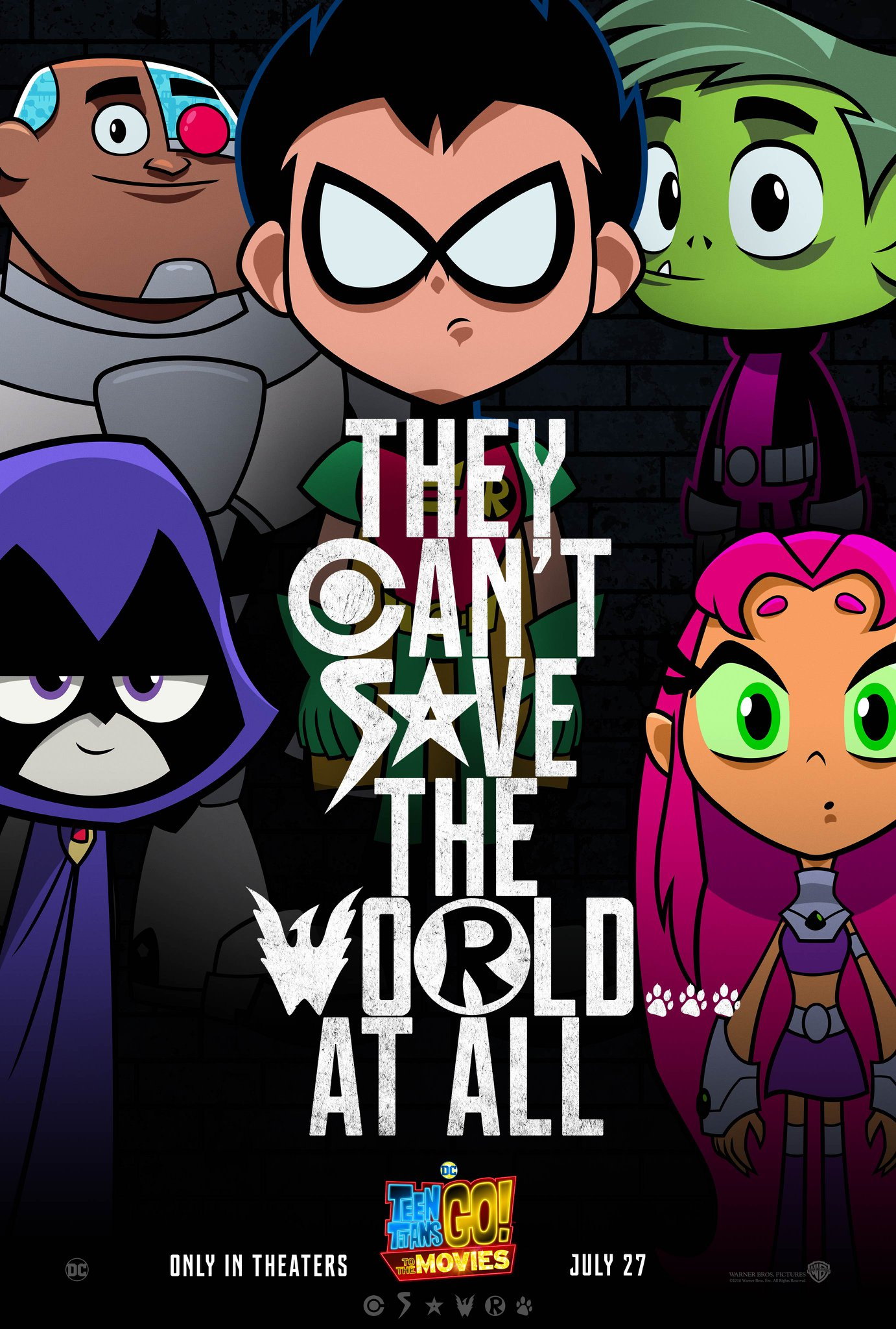 Teen Titans GO! To The Movies Poster Parodies Justice League