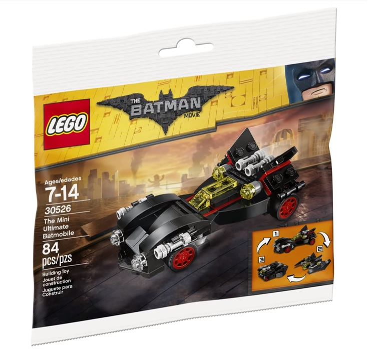 The Lego Batman Movie The Mini Ultimate Batmobile