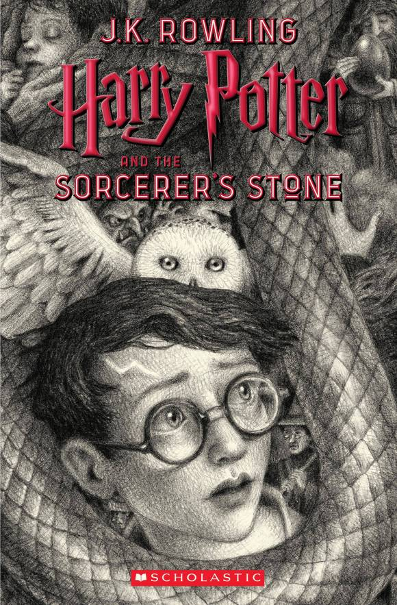 Harry Potter Book Front Cover ~ Harry potter books unveil seven new th anniversary