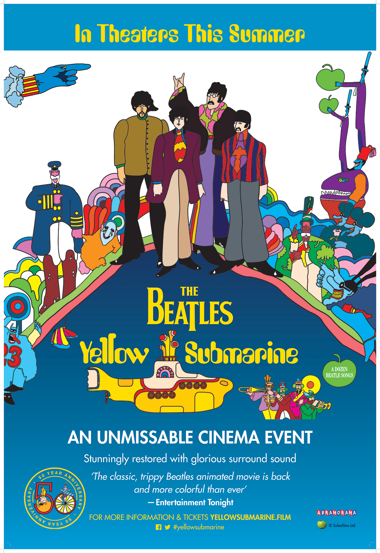 The Beatles Yellow Submarine Returning To Theaters For ...