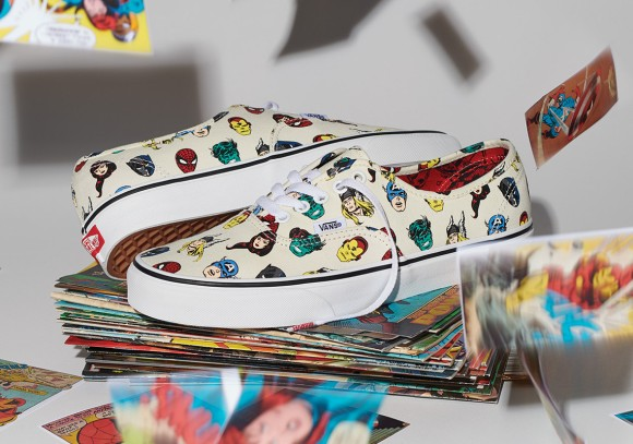 612d55739708af The Vans x Marvel collection kicks off with a selection of footwear  inspired by The Avengers. Representing the Super Hero squad