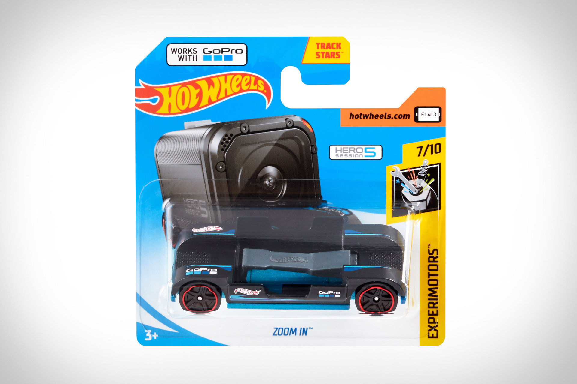 Hot Wheels Rolls Out Gopro Compatible Zoom In Car