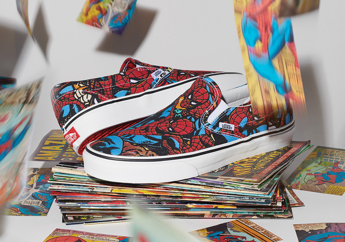 Vans Joins Forces with Marvel to Assemble an Epic Collaboration