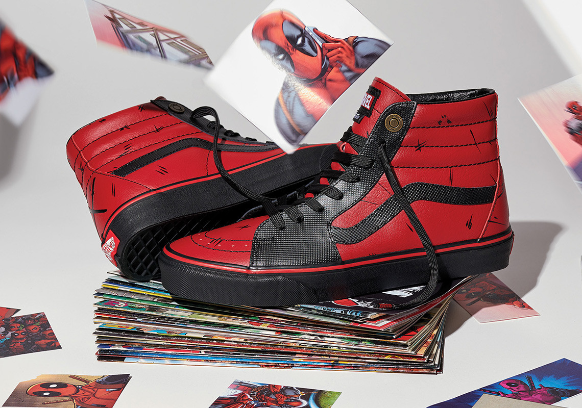 Vans Joins Forces with Marvel