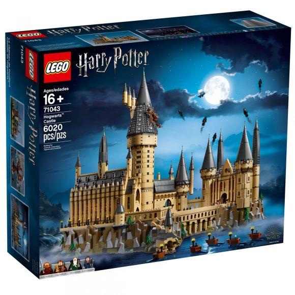 Lego Announces 6 000 Piece Harry Potter Hogwarts Castle Set