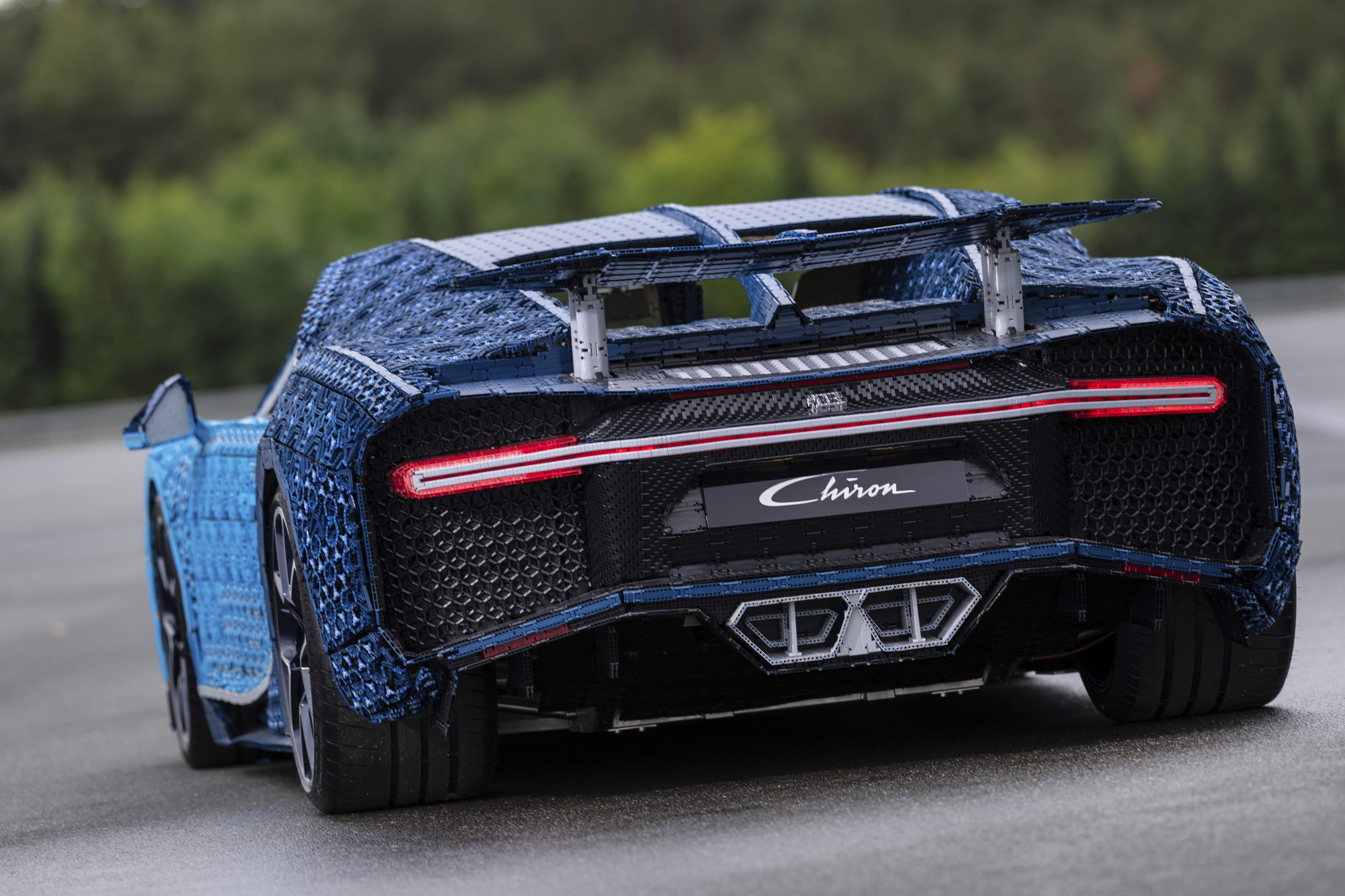 first ever life size drivable lego technic bugatti chiron is a pioneering piece of engineering. Black Bedroom Furniture Sets. Home Design Ideas