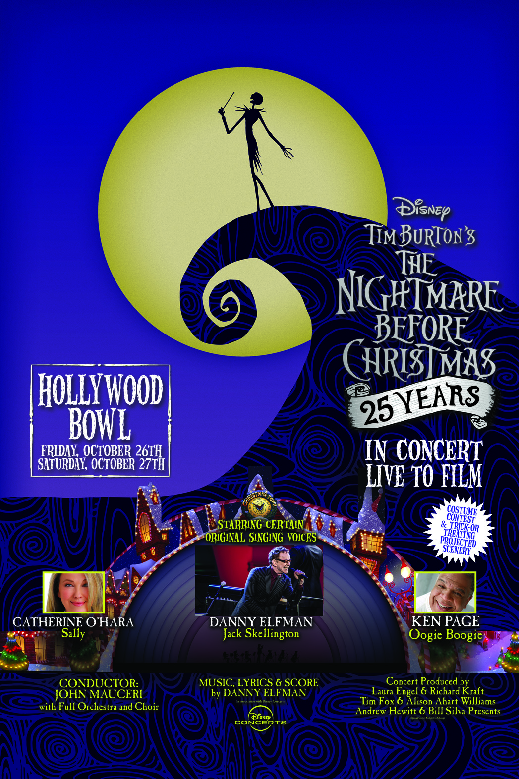 The Nightmare Before Christmas Is Getting A 25th Anniversary Concert ...