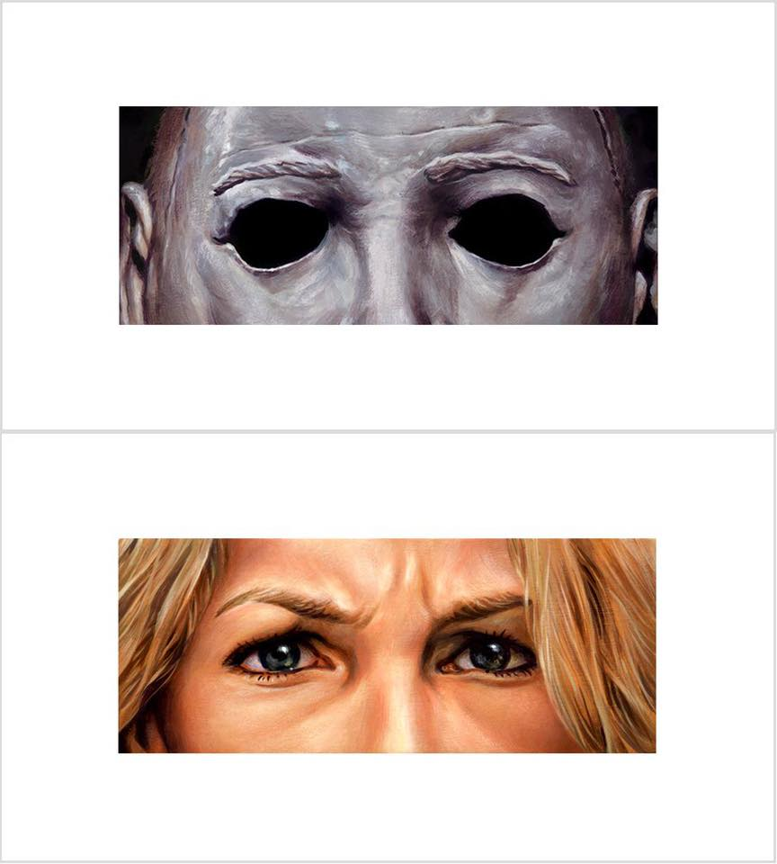 Halloween Eyes Without A Face Timed Edition Prints By Jason Edmiston
