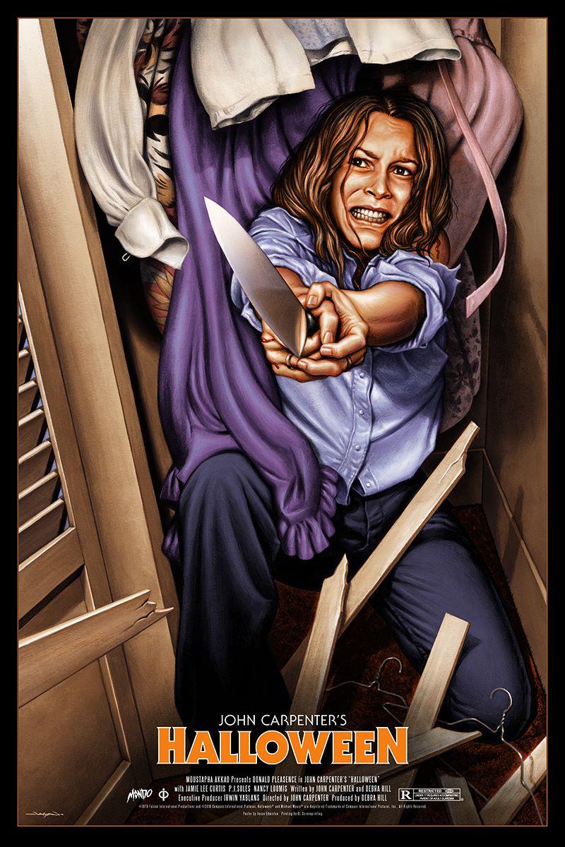 Halloween Poster Art.Halloween Poster By Jason Edmiston Available At Halloween