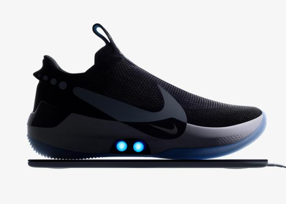 sneakers for cheap 9f803 857e3 Today Nike announced new iPhone-controlled self-adjusting basketball shoes  based on its latest FitAdapt technology.