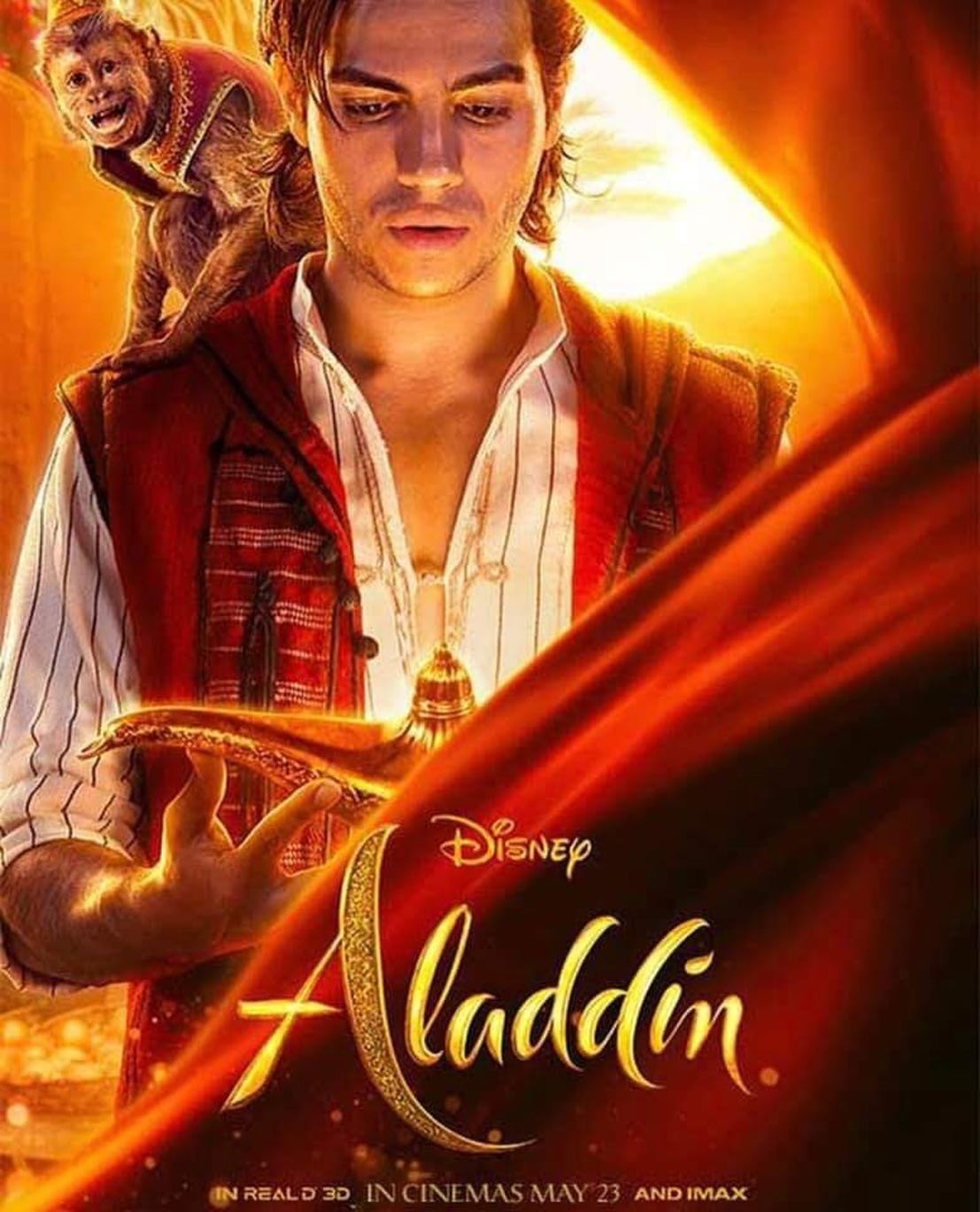 Check Out These New Aladdin Character Posters