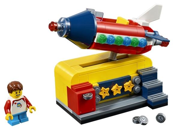 LEGO Ideas Space Rocket Ride Promotion |