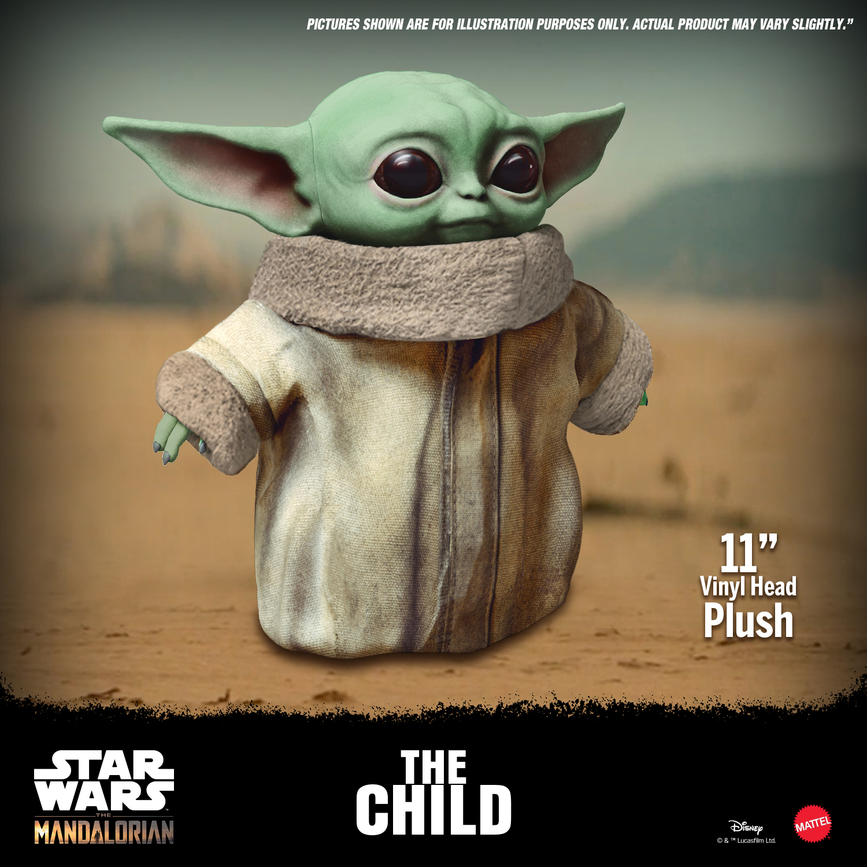 "Mattel Introduces ""Baby Yoda"" Plush Figure"