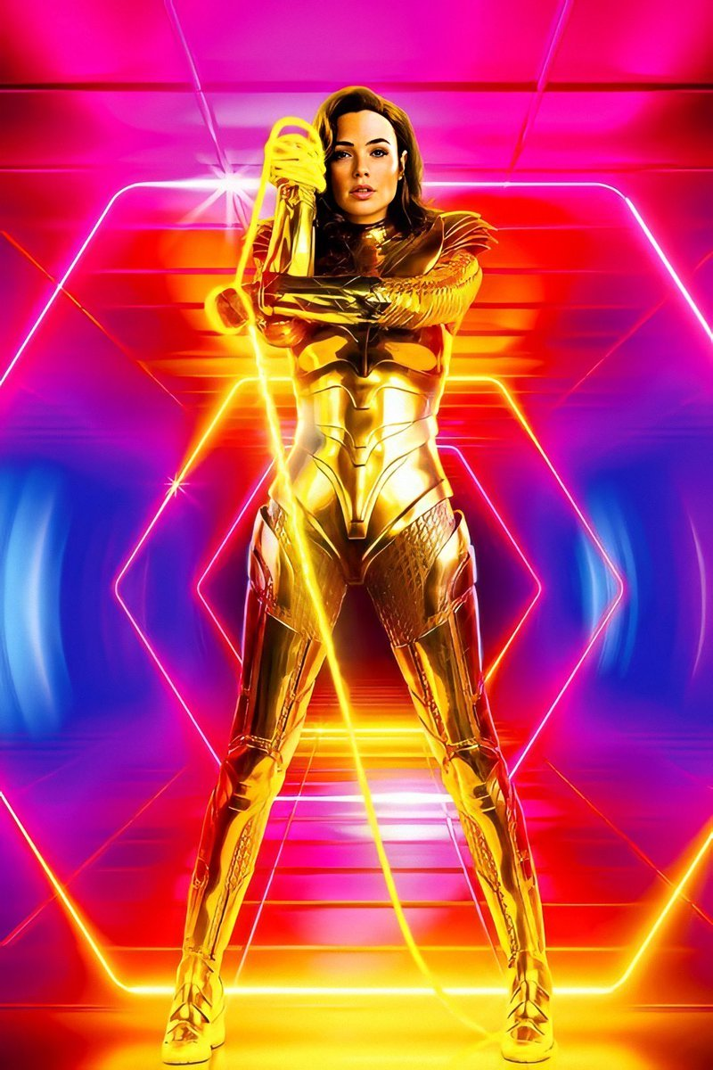 Check Out The New Wonder Woman 1984 Poster